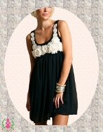 "Kleid / Tunika - ""Black is BACK"""