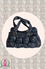 "Tasche ""80er Flower BAG """