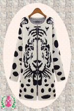 "Jacke / Strickjacke - ""Prince Tiger"""